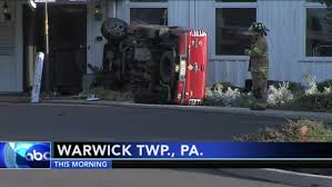 Truck Crashes Into Church In Warwick Township | 6abc.com