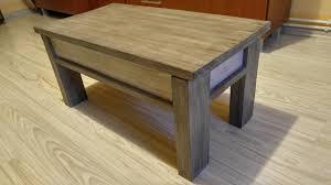 Make A Small End Table by Jak Zrobic Otwierany Maly Stolik Z Palet How To Make A Small