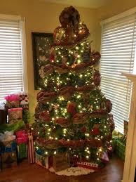 Hobby Lobby Burlap Christmas Tree Skirt by Red Burlap Christmas Tree Garland Burlap Christmas Tree Skirt And