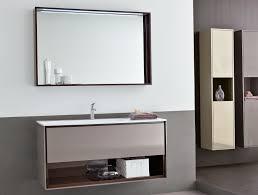 Tall Bathroom Cabinets Freestanding by Bathroom Ideas Frameless Large Bathroom Mirror With Mosaic