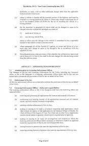 100 Tow Truck Laws BYLAW NO 542013 Licensing Bylaw 2013