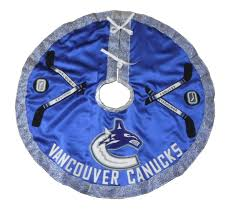 72 Inch Christmas Tree Skirts by Vancouver Canucks Hockey Christmas Tree Skirt Furnitures 72 Inch