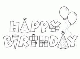 Happy Birthday Card Printable Coloring Pages Elegant
