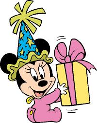 Disney Birthdays And Parties Clip Art