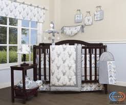 Woodland Crib Bedding Sets by Geenny 13 Piece Boutique Baby Nursery Crib Bedding Set Woodland