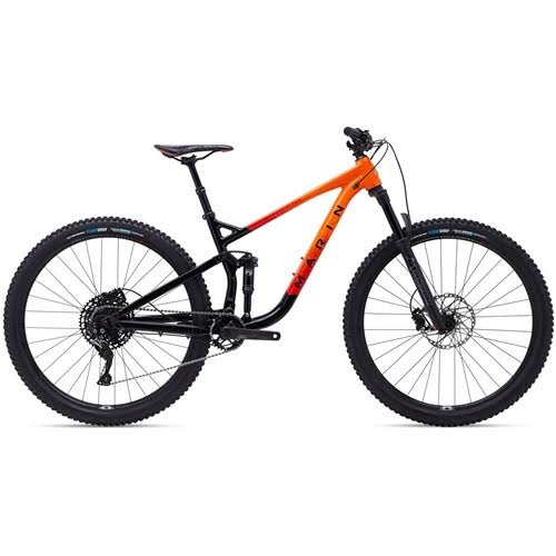 Marin Rift Zone 3 Bike 2020 Gloss Black/Roarange/Red Medium