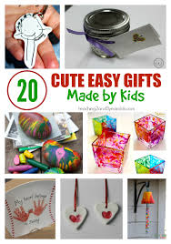 20 Cute And Easy Gifts Made By Kids
