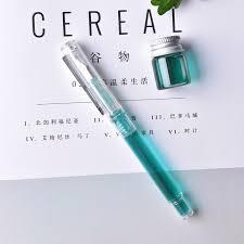 fontaine de bureau haute qualité fontaine stylo transparent pc de luxe stylos penton