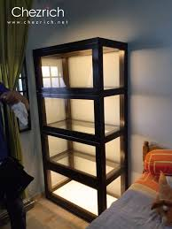 display cabinet light furniture ideas