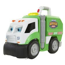 Real Workin' Buddies Talking Garbage Truck - Mr. Dusty - Toys