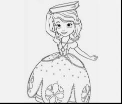 Incredible Disney Princess Sofia Coloring Pages With The First Page And