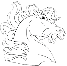 Best Of Coloring Pages Horse Head Page Horseland Pepper Magnificent
