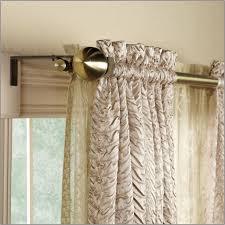 Jcpenney Curtain Rod Finials by Install Double Curtain Rod Brackets Memsaheb Net