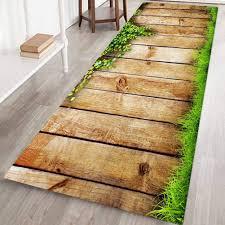 3d gedruckt flanell badematte läufer rutschfeste bad teppiche weich und waschbar lange fußmatten für wohnzimmer schlafzimmer küche 60x180 cm