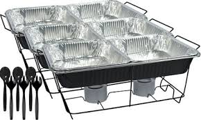 Chafing Dishes Aluminum Pans Fuel Party City Projects Dish Steam Pan