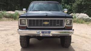 1974 Chevy K10 Truck With 383 Stroker 410 HP Engine, 4