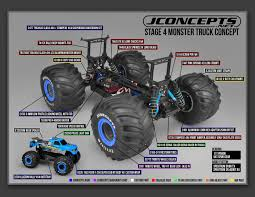 100 4x4 Truck Tires Traxxas Slash Stampede Suspension Conversion Set JConcepts