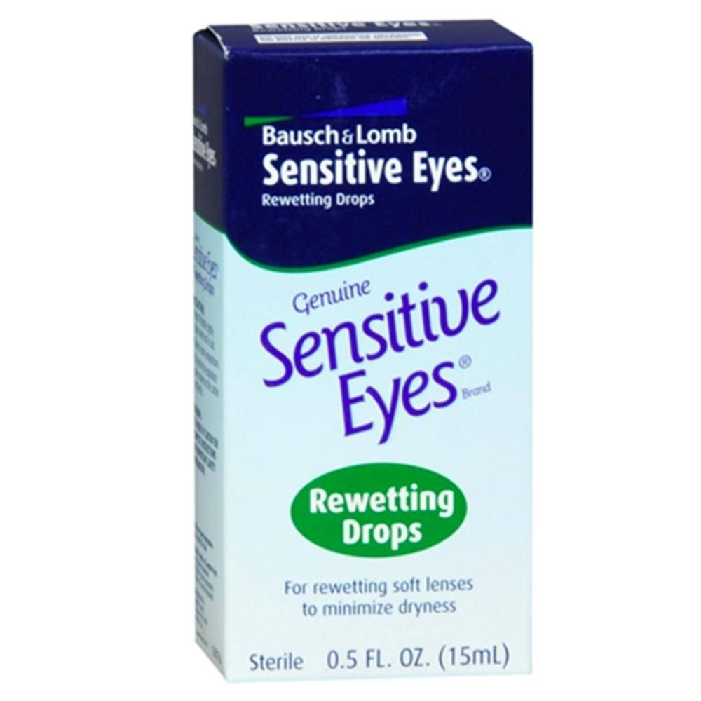 Bausch & Lomb Sensitive Eyes Rewetting Drops - 30ml