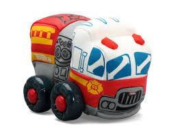 My First Tonka Soft Wobble Wheels - Fire Truck - Toys
