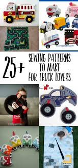 25+ Truck Sewing Patterns For Kids - Swoodson Says