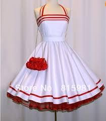 Halter Petticoat Swing Dress 50s 60s Girls Ladies Lolita Princess Party With Handbag