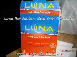 Luna Bar Nutz Over Chocolate