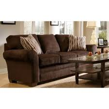 Broyhill Laramie Microfiber Sofa In Distressed Brown by Broyhill Kasson Sofa Wayfair