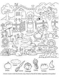 Kids Coloring Page Hidden Object Printable Honeybunchstudio Inside Pages