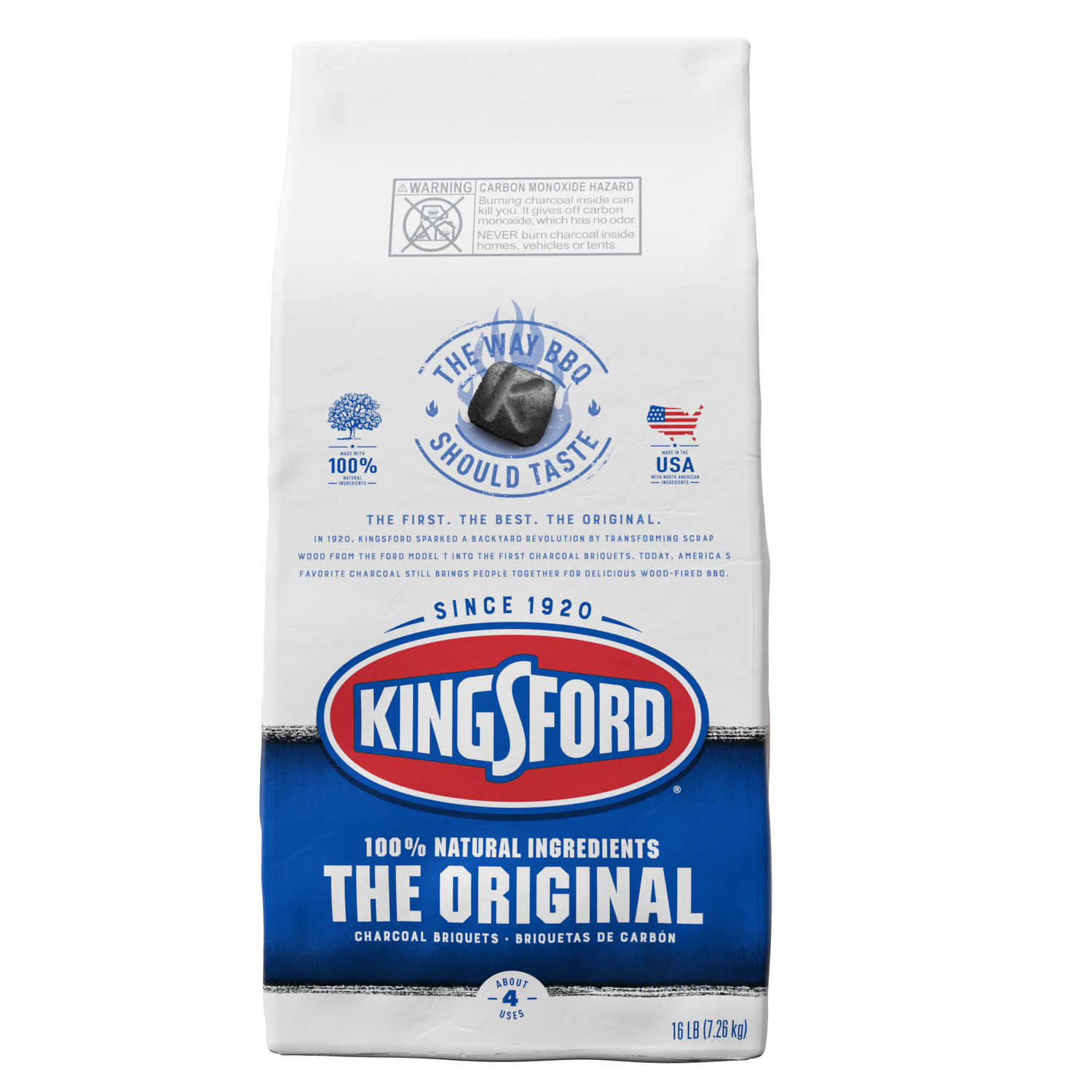 Kingsford Charcoal Briquets, The Original - 16 lb