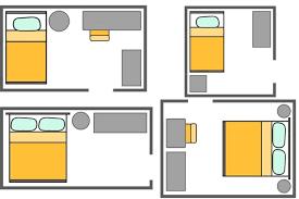 kleines schlafzimmer einrichten ideen für kleine grundrisse