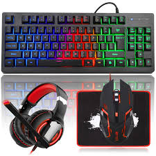 MFTEK RGB Rainbow Backlit Gaming Keyboard And Mouse Combo, LED PC Gaming  Headset With Microphone, Large Mouse Pad, Small Compact 87 Keys USB Wired  ... Your Keyboard And Mouse Are Filthy Heres How To Clean Them Best Gaming 2019 The Best Mice Available Today Cougar Deathfire Gaming Gear Combo Office Chair With Keyboard And Mouse Tray Computex Tesoro Updates Pipherals Displays Chairs Acer Reveals Monstrous Predator Thronos Chair Acers Is From A Future Where Have Lapboards Lapdesks Made For Pc Ign Original Fantech Gc 185 Alpha Gaming Chairs Top Of Line Durable Simple Yet Comfortable Suitable Home Usinternet Cafe Users Level 20 Rgb Cherry Mx Speed Silver Blackweb Starter Kit With Mousepad Headset Walmartcom