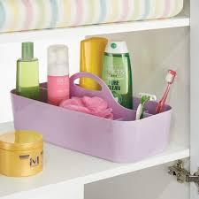 mdesign 2er set badezimmer korb mit griff als kosmetik