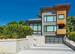 100 Modern Style Homes Design FauxWood Garage Doors Clopay Canyon Ridge