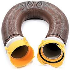 Camco 10ft Revolution Swivel RV Sewer Hose Extension Kit With Fittings Extend Your