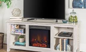Sunbury 58 TV Stand With Electric Fireplace
