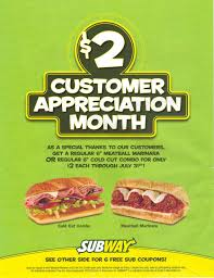 $5 Deals Subway : Bed Bath And Beyond Online Coupons Codes 2018 Subway Singapore Guest Appreciation Day Buy 1 Get Free Promotion 2 Coupon Print Whosale Coupons Metro Sushi Deals San Diego Coupons On Phone Online Sale Dominos 1for1 Pizza And Other Promotions Aug 2019 Subway Usa Banners May 25 Off Quip Coupon Codes Top August Deals Redskins Joann Fabrics Text Canada December 2018 Michaels Naimo Deal Hungry Jacks Vouchers Valid Until Frugal Feeds Free 6 Sub With 30oz Drink Purchase Sign Up For