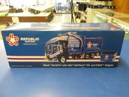 First Gear Employee Edition Mack TerraPro Garbage Refuse Truck For ...