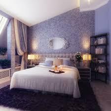 Ideas For Wall Decoration Bedroom Decorating Wallpaper Purple Carpet