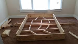 Pallet Bed Frame For Sale by Bedroom Diy Pallet Bed Frame With Storage Expansive Brick Alarm