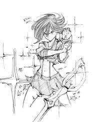 100 Demx Nice Ryuko Transforming Sketch By Demx Hax KillLaKill