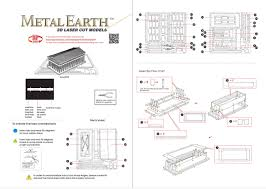 Laser Cut Lamp Plans by Fascinations Metal Earth 3d Metal Model Diy Kits Unique Gifts