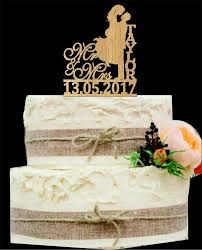 Wedding Cake Cakes Rustic Topper New Amazon To
