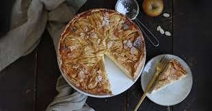 german apple sour cake bake to the roots