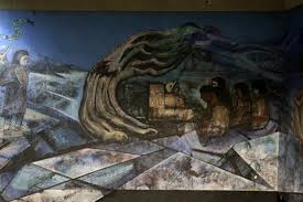 David Alfaro Siqueiros Famous Murals by Mexico City Ambles February 2016