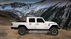 100 Jeep Truck Scrambler Rubicon Pickup Render Looks Ing Awesome