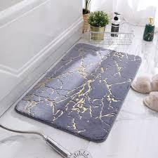 bad matten soft badezimmer teppich non slip boden matte dicken bad teppich saugfähigen faux kaninchen haar bad matte wohnkultur