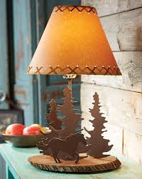 Large Punched Tin Lamp Shades by Western Lamps And Rustic Lighting Lone Star Western Decor