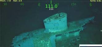 Uss America Sinking Location by Wreck Wreckage Of Uss Indianapolis Found Pictures Cbs News