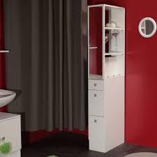 separation salle de bain colonne salle de bain 3 tiroirs 1 miroir l24 5xp54xh181 50cm banio