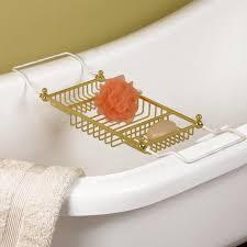 Teak Bathtub Tray Caddy by Clawfoot Tub Accessories Signature Hardware
